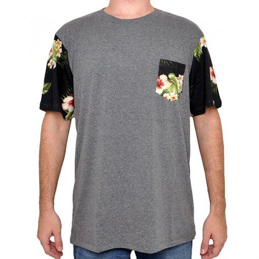 Camiseta Dc Shoes 61.14.2933 Mescla Escuro