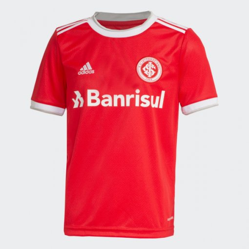 Camiseta Internacional Infantil Masculina Adidas OF.1 FU1086 Vermelho