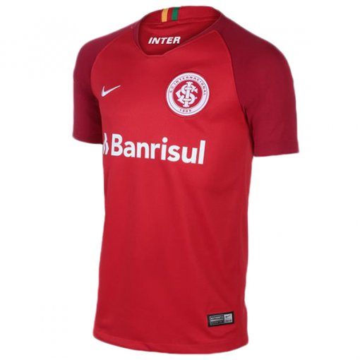 Camiseta Internacional Infantil Masculina Nike Of.1 2018 894464-612 Vermelho