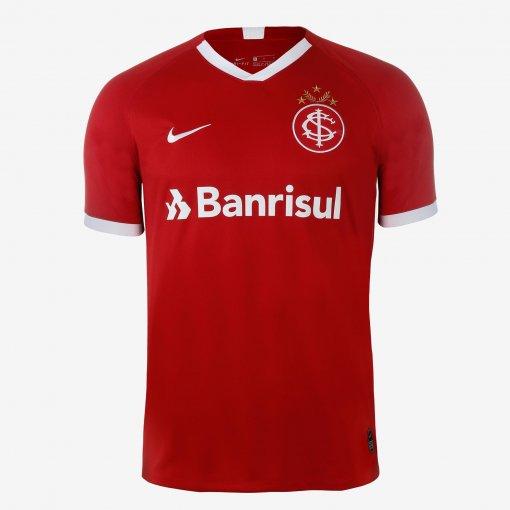 Camiseta Internacional Masculina Nike OF.1 AJ5563-611 Vermelho
