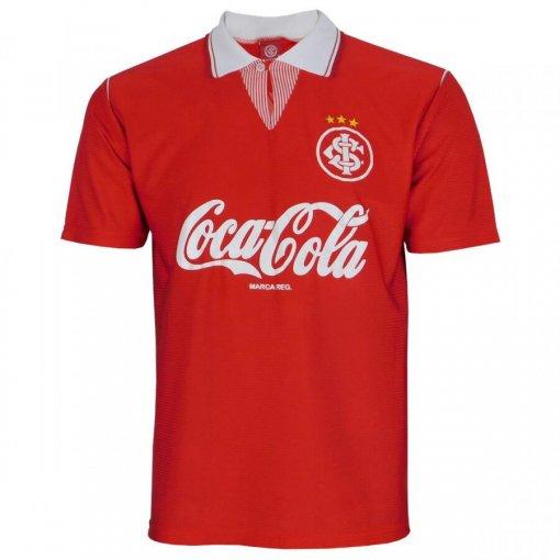 Camiseta Internacional Masculina Retrô 1992 Coca-Cola INT534 Vermelho