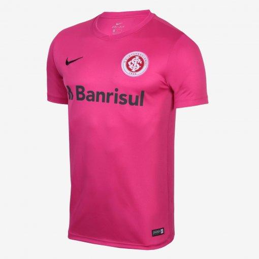 Camiseta Internacional Nike Outubro Rosa Masculina AA1081-616 Rosa
