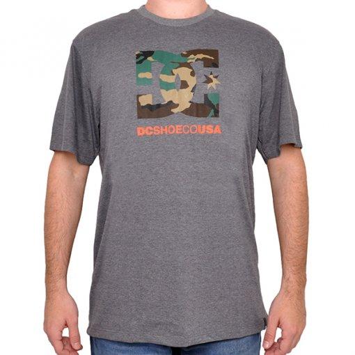 Camiseta Dc Shoes 61.11.4581 Mescla Escuro