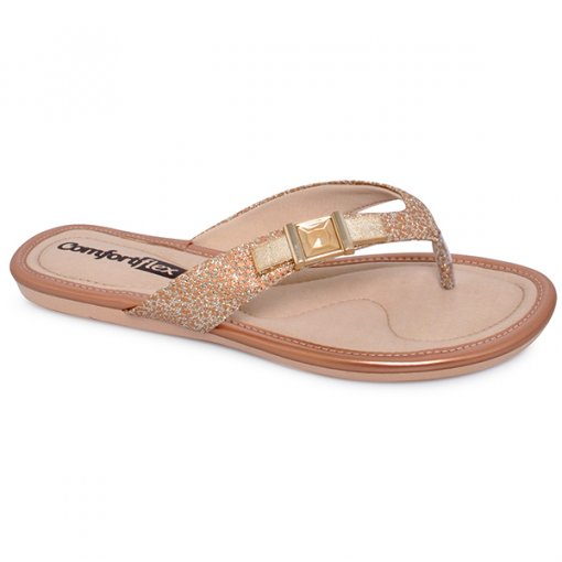 Chinelo Comfortflex 1741404 Rose