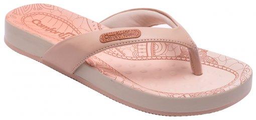 Chinelo Feminino Comfortflex 1640401 Nude