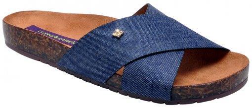 Chinelo Feminino Cravo E Canela 147005-1 Azul