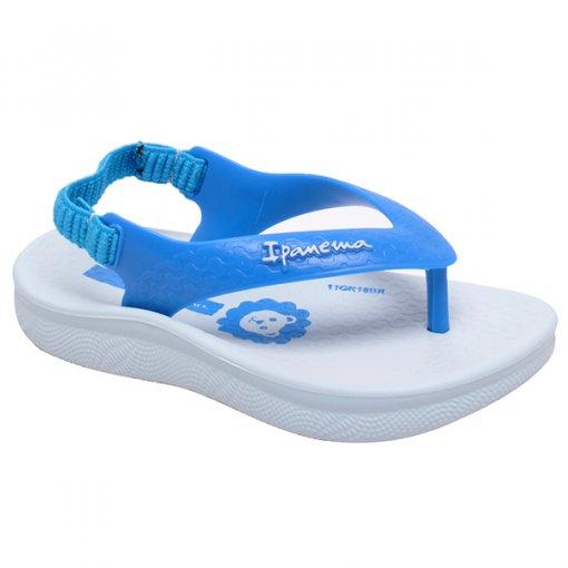 Chinelo Infantil Grendene Ipanema Anatômica 26121 Azul/Azul