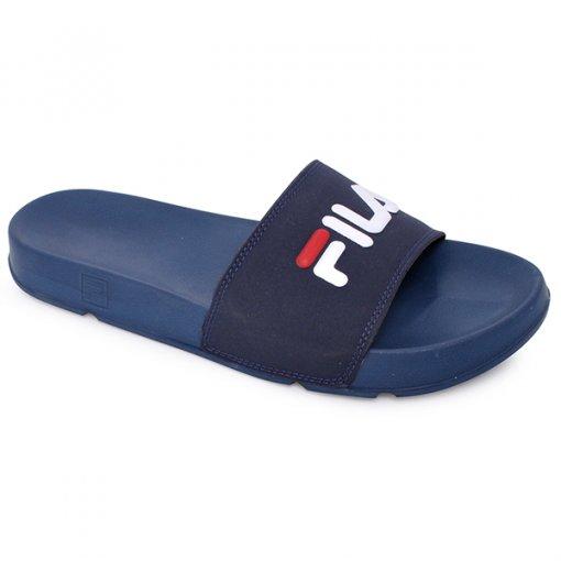 Chinelo Slide Fila Drifter Basic Azul/Branco/Vermelho
