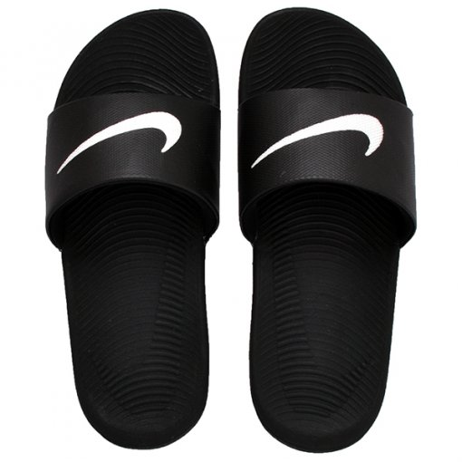 Chinelo Nike Kawa 832646-010 Preto/Branco