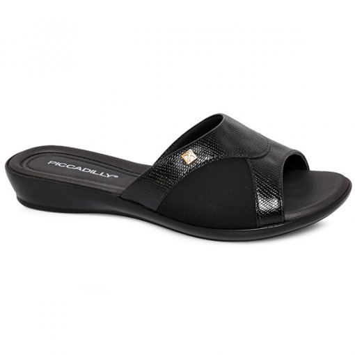 6732d6078 Chinelo Piccadilly 500203 Preto