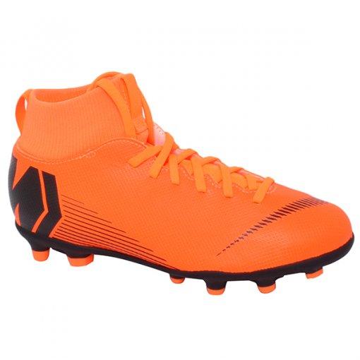 Chuteira Campo Infantil Nike Superfly 6 Club Ah7339-810 Laranja