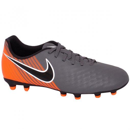 Chuteira Campo Nike Obra 2 Club Ah7302-080 Cinza/Laranja