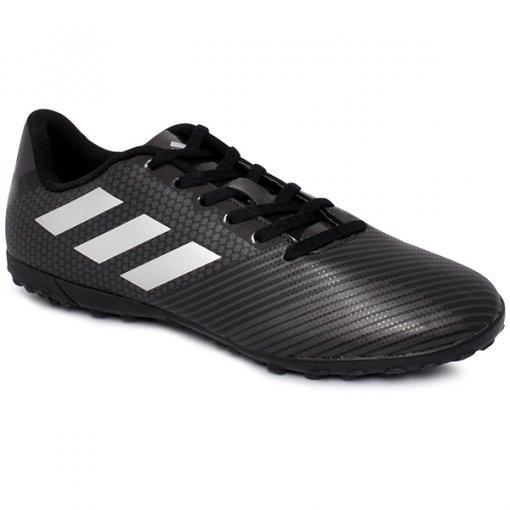 Chuteira Society Adidas Artilheira 2 H68438 Preto/Cinza