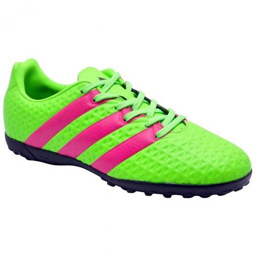 Chuteira Society Infantil Masculina Adidas Ace 16.4 Af5079 Green