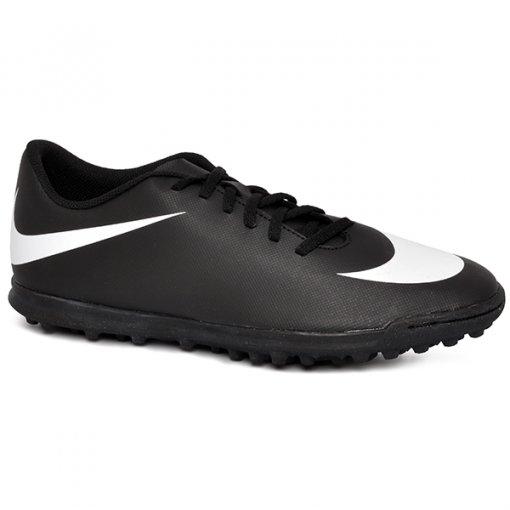 Chuteira Society Nike Bravata 768917-011 Preto Branco e2e7053fa270a