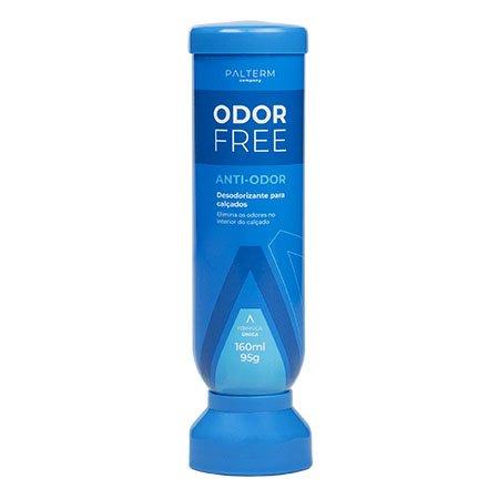 Desodorante Para Pés Odor Free Palterm Azul