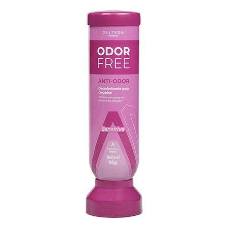 Desodorante Para Pés Odor Free Sensitive Palterm Rosa
