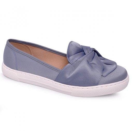 Sapatilha Feminina Moleca 5629206 Azul Jeans