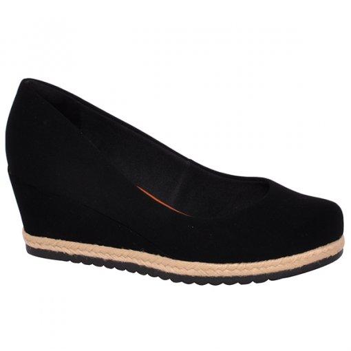 Sapato Anabela Bebecê 5814-558 Preto