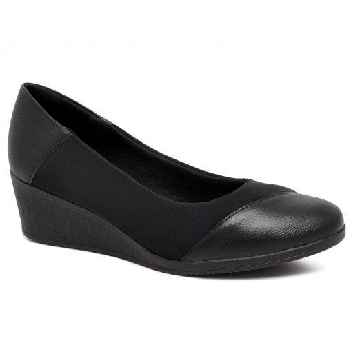 Sapato Anabela Usaflex AA3810 Preto