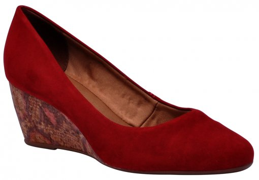 Sapato Feminino Bottero 253205 Rouge