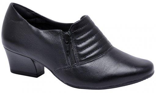 Sapato Feminino Comfortflex 1695304 Preto