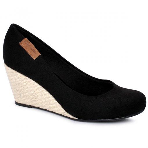 Sapato Feminino Moleca 5270825 Preto