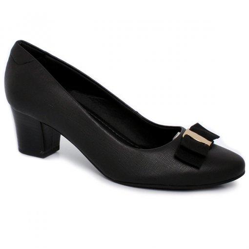 Sapato Feminino Usaflex Q6629/01 Preto