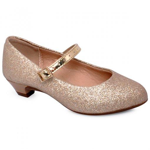 Sapato Infantil Molekinha 2166414 Dourado