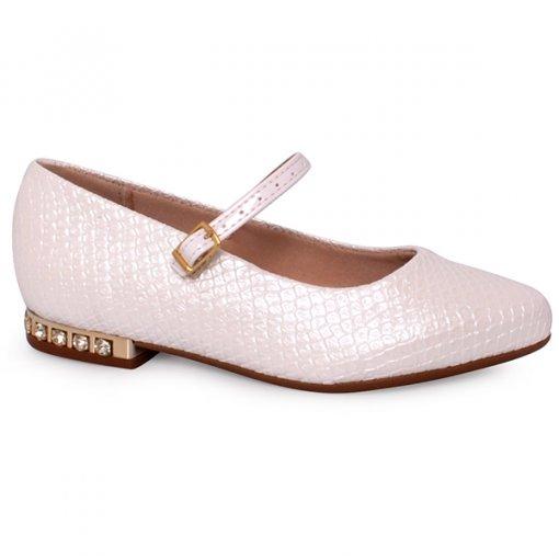 Sapato Infantil Molekinha 2518101 Branco