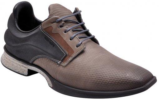 Sapato Masculino Ferracini 6375 Cinza