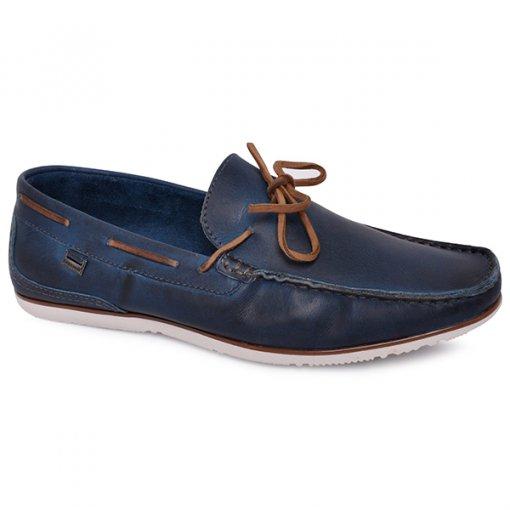 Sapato Masculino Freeway Marselha Azul