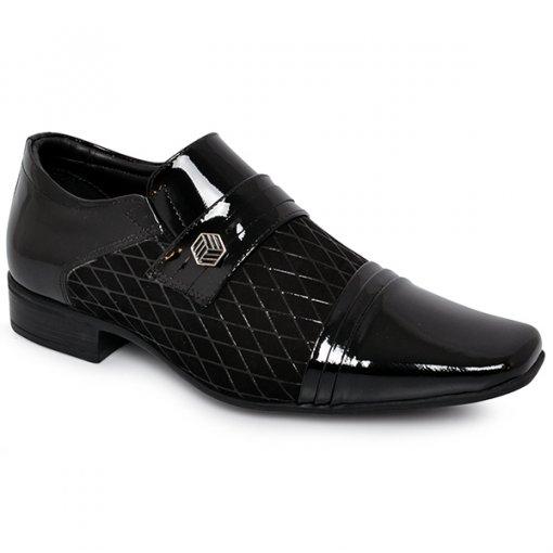 Sapato Masculino Jota Pe 40764 Preto