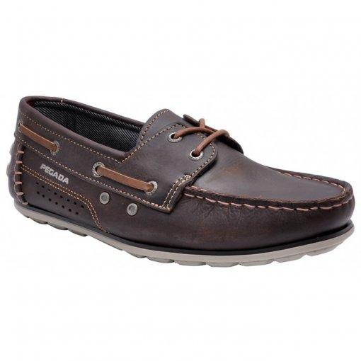 Sapato Masculino Pegada 40301-03 Chocolate