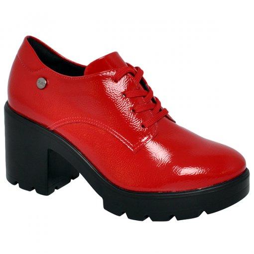 Sapato Oxford Quiz 69-69202 Vermelho