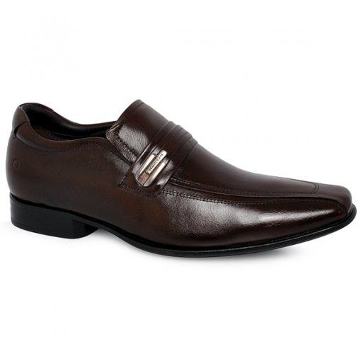 Sapato Social Democrata 131108-002 Tabaco