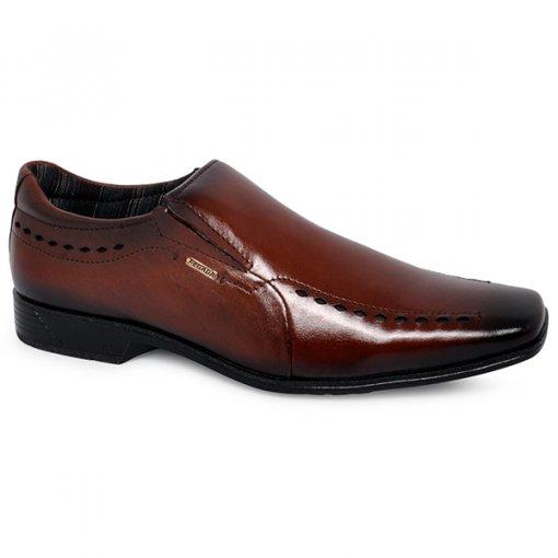 Sapato Social Pegada 124204-03 Telha