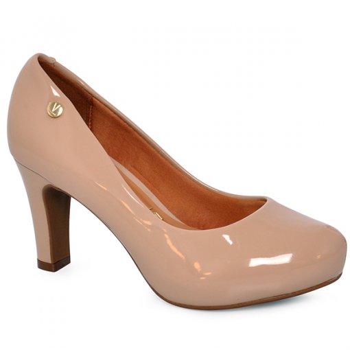 Sapato Scarpin 1840101 Bege/Verniz