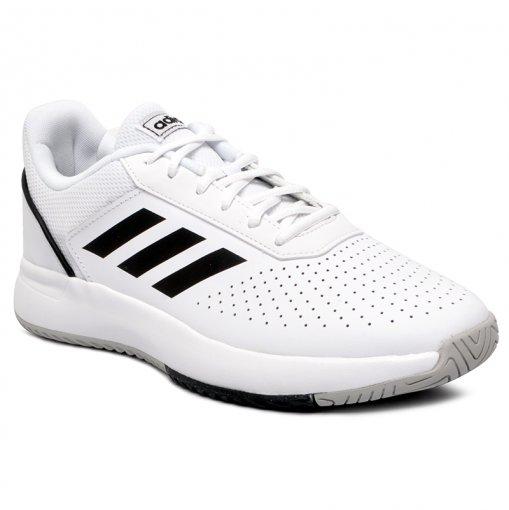 Tênis Adidas Courtsmash F36718 Branco/Preto