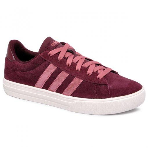 Tênis Adidas Daily 2.0 BB7368 Bordo/Rosa