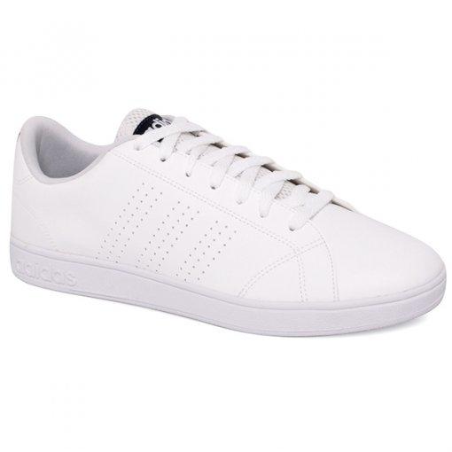 Tênis Adidas Vs Advantage Cl F99252 Branco/Azul Marinho