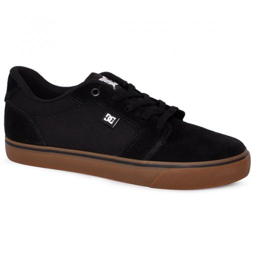 418fd7fc7a3 Tênis Dc Shoes Anvil La Adys300200r Preto Natural