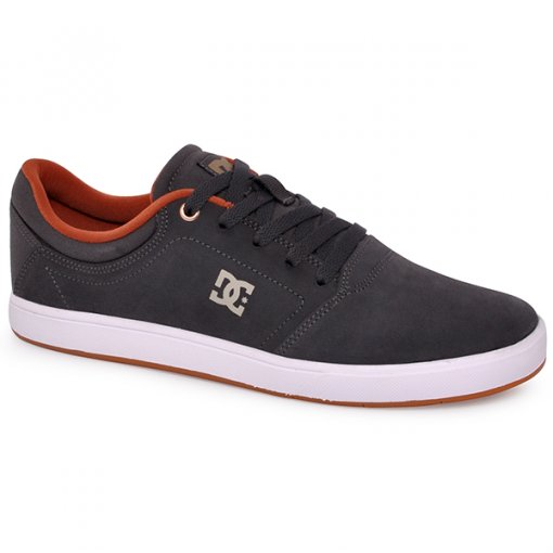 Tênis Dc Shoes Crisis La Adys100029l Cinza/Branco