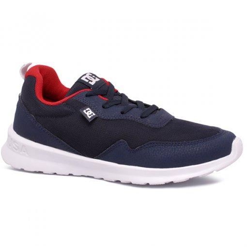 Tênis Dc Shoes Hartferd ADYS700140L Azul Marinho/Vermelho