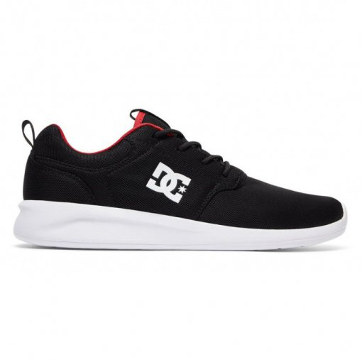 Tênis Dc Shoes Midway Adys700097 Preto/Vermelho
