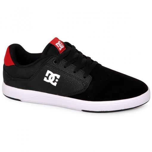 Tênis Dc Shoes Plaza Tcs Adys100319 Preto/Cinza/Vermelho