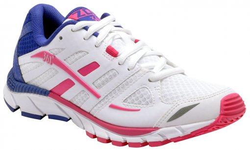 Tênis Feminino 361° Zomi White/Pink/Blue