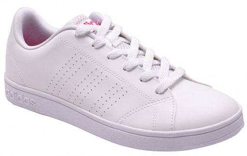 T 234 Nis Feminino Adidas Advantage Clean B74574 Branco