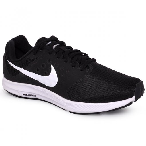 e6eb21291d3 Tênis Feminino Nike Downshifter 7 852466-010 Preto Branco