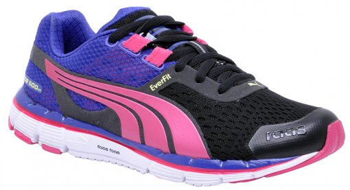 Tênis Feminino Puma Faas 500 187065-02 Black/PL/Purple